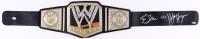 "Hulk Hogan & Ric Flair Dual-Signed WWE Championship Belt Inscribed ""16x"" (Schwartz COA)"
