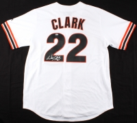 Will Clark Signed Giants Majestic Jersey (MLB Hologram) at PristineAuction.com