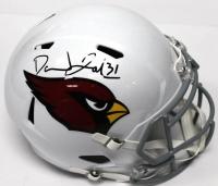 David Johnson Signed Cardinals Full-Size Helmet (JSA COA)