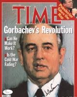 Mikhail Gorbachev Signed 8x10 Photo (JSA COA)