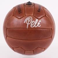 Pele Signed 1958 World Cup Final Replica Soccer Ball (PSA COA)