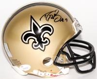 Drew Brees Signed Saints Mini Helmet (JSA COA & Brees Hologram)