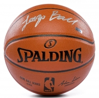 Lonzo Ball Signed Game Ball Series Basketball (Panini COA) at PristineAuction.com
