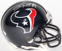 J. J. Watt Signed Texans Mini Helmet (JSA COA)