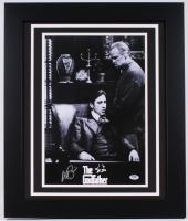 "Al Pacino Signed ""The Godfather"" 19.5"" x 23.5"" Custom Framed Poster Print (PSA COA)"