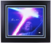 "Daisy Ridley Signed ""Star Wars: The Force Awakens"" 23.5x27.5 Custom Framed Photo (PSA COA) at PristineAuction.com"
