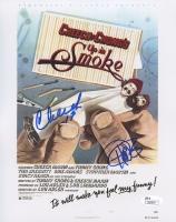 "Cheech Marin & Tommy Chong Signed ""Cheech & Chong's Up in Smoke"" 8x10 Photo (JSA COA)"