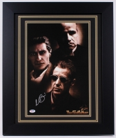 "Al Pacino Signed ""The Godfather"" 19.5"" x 23.5"" Custom Framed Poster Print (PSA COA)"