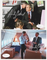 Lot of (2) Andy Card Signed 4x6 Photos (JSA COA)