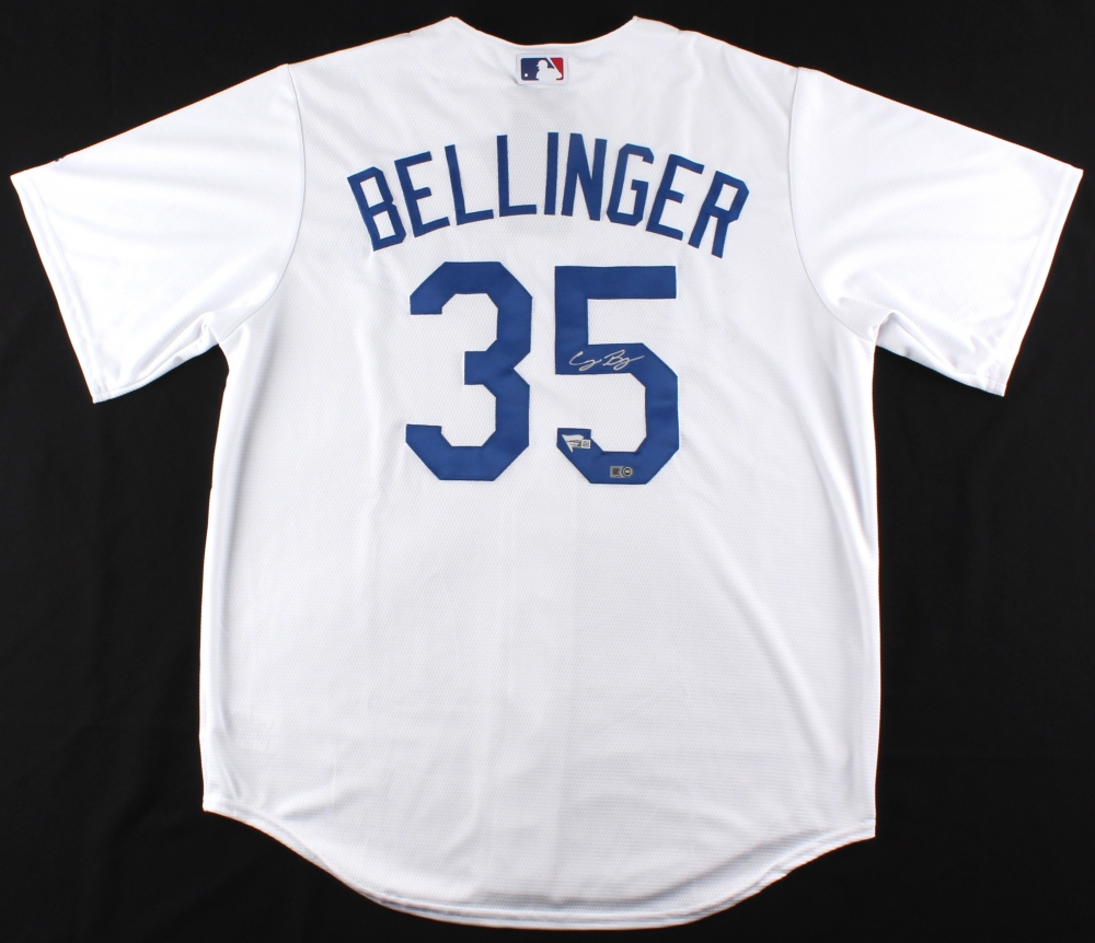 Cody Bellinger Signed Dodgers Authentic Majestic Cool Base Jersey (MLB  Hologram   Fanatics COA) 3ca96ffd8bc