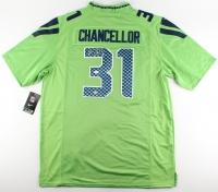 Kam Chancellor Signed Seahawks Jersey (JSA COA)