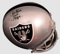 """Art Shell Signed Raiders Full-Size Helmet Inscribed """"HOF 1989"""" (JSA COA)"""