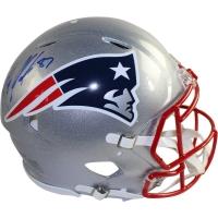 Rob Gronkowski Signed Patriots Full Size Authentic Speed Helmet (Steiner COA)
