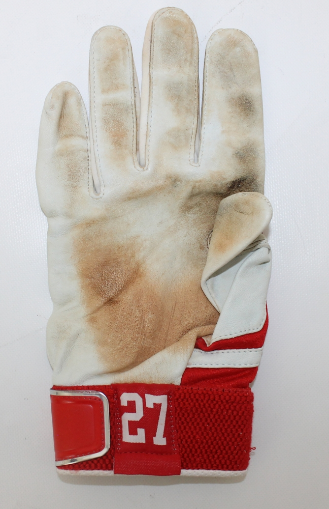Mike Trout Glove 2015