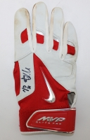 Mike Trout Signed Nike Game Used Batting Glove With Inscription (JSA LOA)