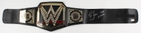 "Ric Flair Signed WWE Intercontinental Heavyweight Wrestling Championship Belt Inscribed ""Woooo"" & ""16x"" (JSA Hologram)"