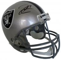 Derek Carr Signed Raiders Full-Size Helmet (Steiner COA)
