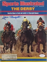 Jean Cruguet Signed Vintage 1977 Sports Illustrated Magazine (JSA COA)
