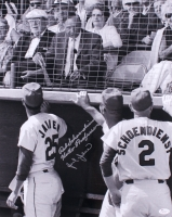 "Red Schoendienst & Julian Javier Signed Cardinals 16x20 Photo Inscribed ""Hello Professor"" (JSA COA) at PristineAuction.com"