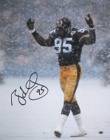 Greg Lloyd Sr. Signed Steelers 16x20 Photo (CAS COA) at PristineAuction.com