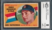 1960 Topps #148 Carl Yastrzemski RC (BCCG 8)