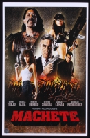 "Tom Savini Signed ""Machete"" 11x17 Poster (Legends COA)"