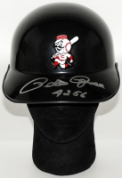 "Pete Rose Signed Reds Authentic Full-Size Batting Helmet Inscribed ""4256"" (JSA COA)"