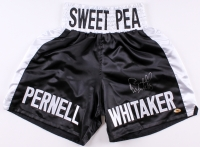 "Pernell ""Sweet Pea"" Whitaker Signed Boxing Shorts (MAB Hologram)"