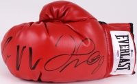 Floyd Mayweather Jr. & Conor McGregor Signed Boxing Glove (PSA LOA & Beckett Hologram)