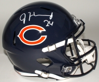 Jordan Howard Signed Bears Full-Size Speed Helmet (JSA COA)