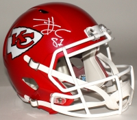 Travis Kelce Signed Chiefs Full-Size Speed Helmet (JSA COA)