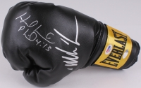 Mike Tyson & Evander Holyfield Signed Everlast Boxing Glove (PSA COA & Steiner COA)