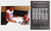 "Brett Favre Signed LE Packers Jersey Inscribed ""'95, '96, '97 MVP"" (Favre COA & JSA COA) at PristineAuction.com"