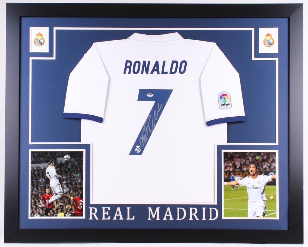 ed55d1e6002 Cristiano Ronaldo Signed Real Madrid 35.5