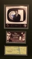"Rod Serling Signed ""The Twilight Zone"" 17"" x 26"" Custom Framed Cut Display (JSA LOA)"