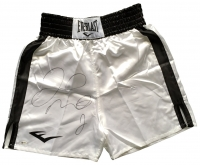 Floyd Mayweather Jr Signed Boxing Trunks (Beckett COA) at PristineAuction.com