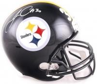 James Conner Signed Steelers Full-Size Helmet (TSE COA)