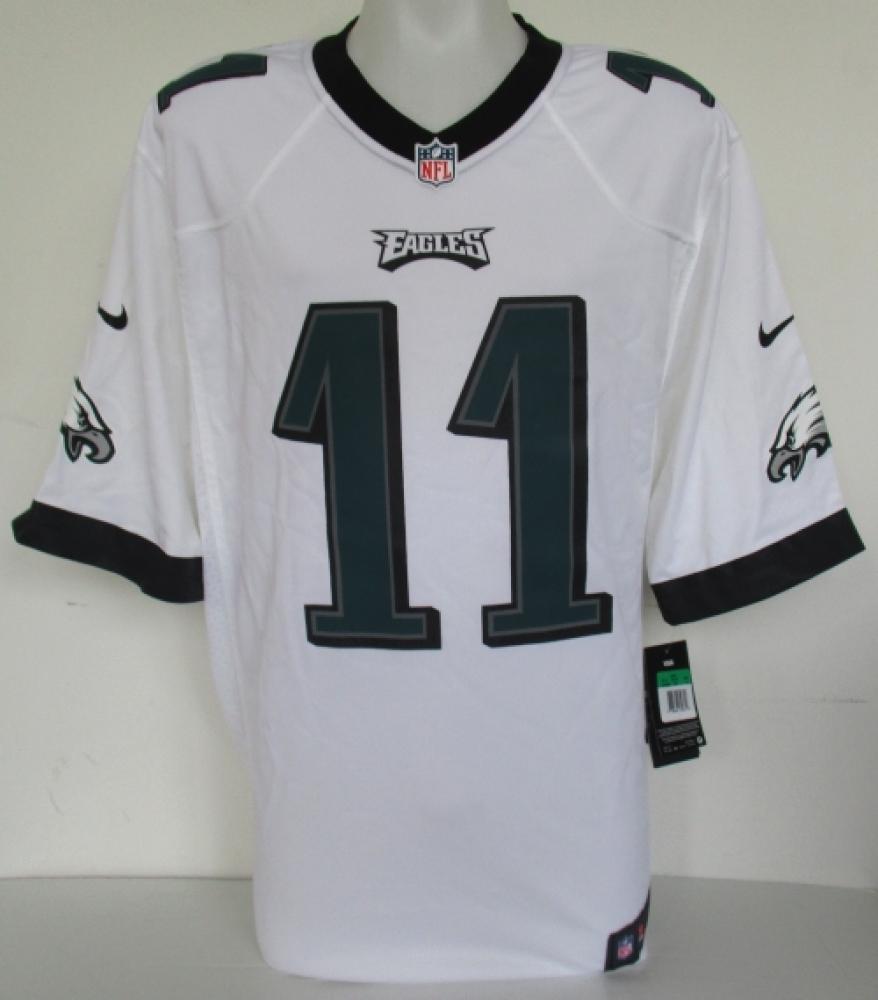 Carson Wentz Signed Eagles Nike Game Jersey (Fancatics) at  PristineAuction.com f3e5403f53b9