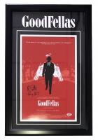 "Ray Liotta Signed ""Goodfellas"" 18"" x 26"" Custom Framed Movie Poster Display Inscribed ""Henry Hill"" (PSA COA)"