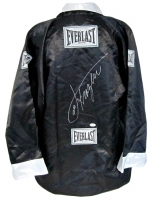 Joe Frazier Signed Everlast Boxing Robe (PSA COA)