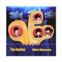 """The Beatles """"Periscope Beatles"""" Limited Edition 24x24 Giclee on Gallery Wrapped Canvas"""