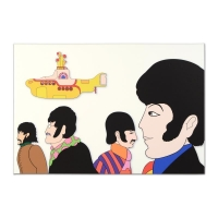 "The Beatles ""Goin Round in Circles"" Limited Edition 24x36 Giclee on Gallery Wrapped Canvas"