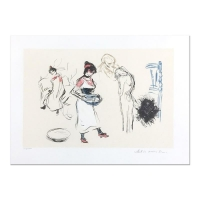 "Pablo Picasso ""Etude de Personnages"" Limited Edition 22x30 Original Lithograph Hand-Signed by Marina Picasso at PristineAuction.com"