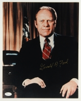 Gerald R. Ford Signed 11x14 Photo (JSA COA)
