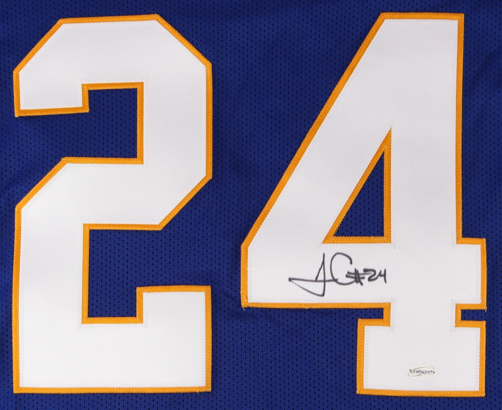 f66021570 ... James Conner Signed Pittsburgh Panthers Jersey (TSE COA) at  PristineAuction.com ...