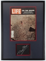 Buzz Aldrin Signed 18x24 Framed Cut Display (JSA ALOA) at PristineAuction.com