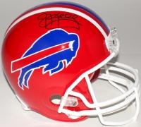 Jim Kelly Signed Bills Full-Size Helmet (JSA COA)
