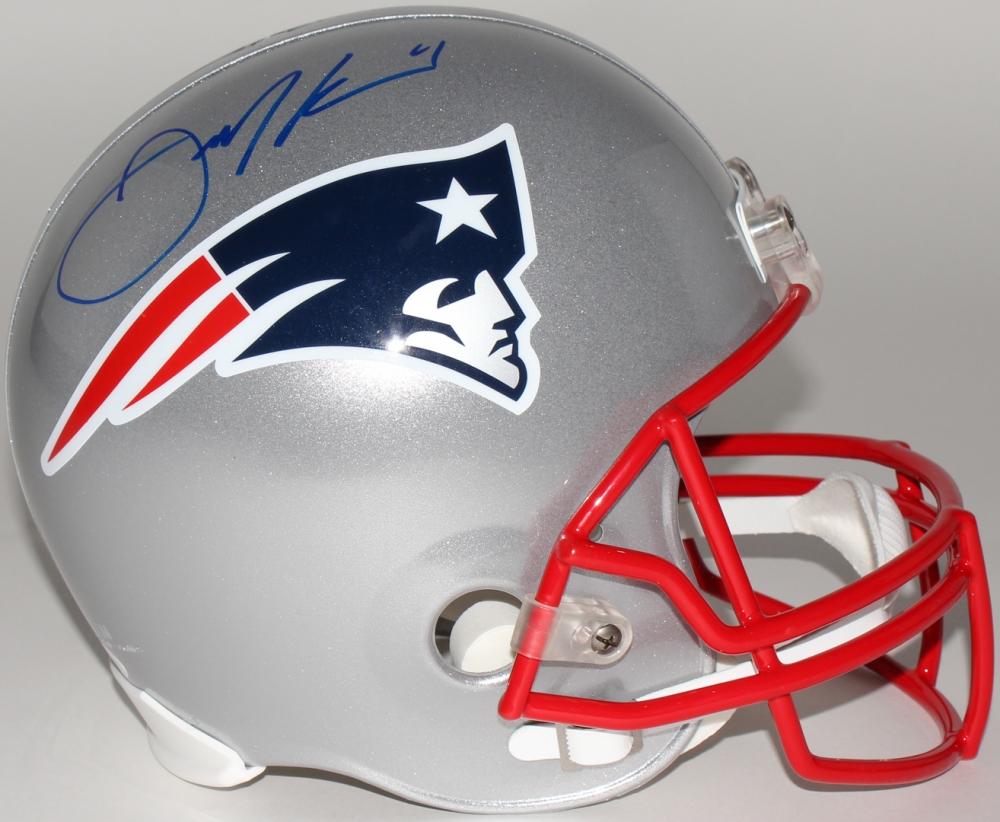 Julian Edelman Signed Patriots Full-Size Helmet (JSA COA) at  PristineAuction.com 76e75e20b