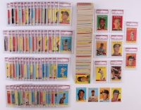 1958 Topps Complete Set of (494) Baseball Cards With (76) PSA Graded Including #47 Roger Maris RC PSA 5, #150 Mickey Mantle, #187 Sandy Koufax PSA 5, #30 Hank Aaron PSA 6 at PristineAuction.com