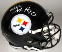 T.J. Watt Signed Steelers Full-Size Speed Helmet (JSA Hologram & Watt Hologram)